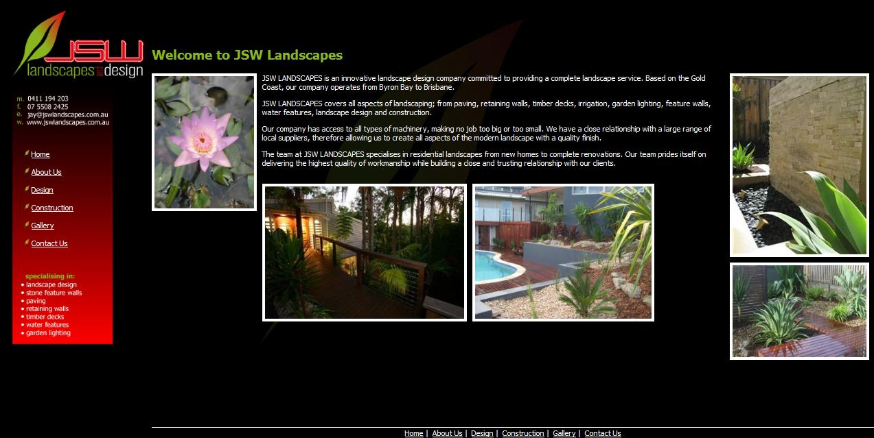 JSW Landscapes & Design